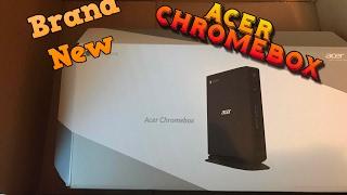Unboxing Acer Chromebox!