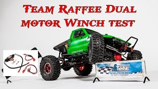 Team Raffee Dual-motor Winch power test BRQ90257