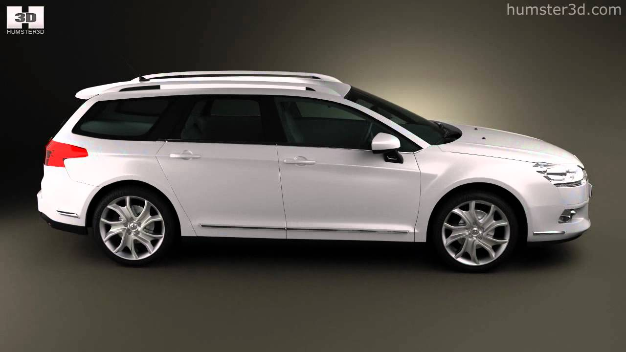 citroen c5 tourer 2011 by 3d model store youtube. Black Bedroom Furniture Sets. Home Design Ideas