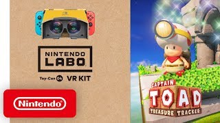 Nintendo Labo: VR Kit + Captain Toad: Treasure Tracker