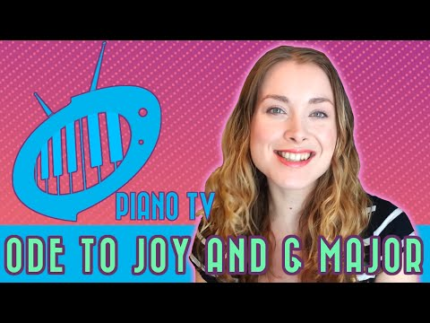 Piano Lesson 7: Ode to Joy, the Key of G, and D7 Chord