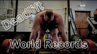 World records: deadlift / Мировые рекорды: становая тяга