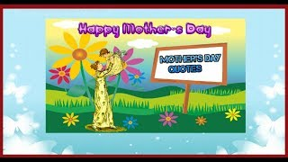 Mother's day quotes | Mothers day cards | Mother's day drawings | Kids Fun Learning