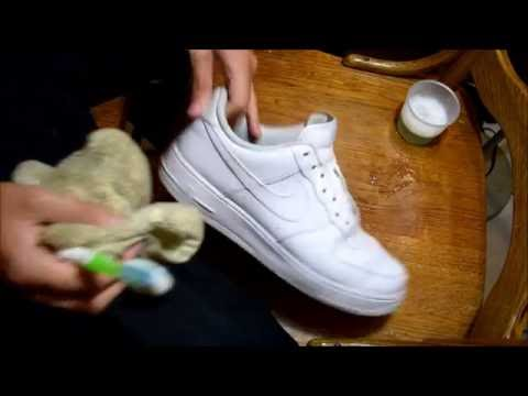 ASMR SHOE CLEANING #19 AIR FORCE ONES