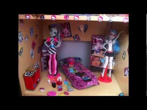 Mi casa de monster high my monster house youtube - Casa de monster high ...
