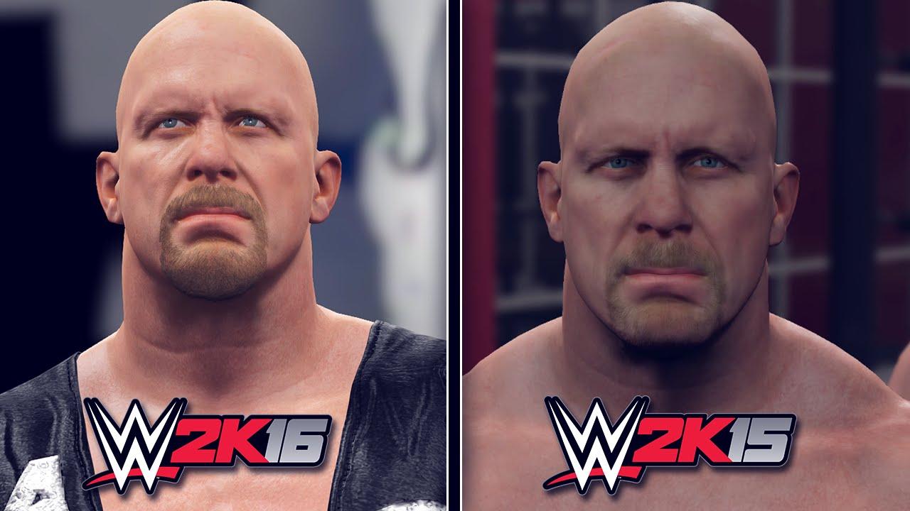WWE 2K16 Vs 2K15