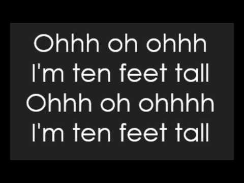 Afrojack  Ten Feet Tall Lyrics
