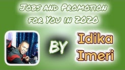 Jobs and Promotion for You in 2020