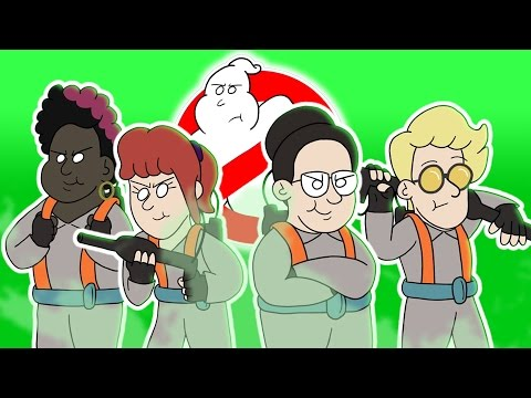 ♪ GHOSTBUSTERS THE MUSICAL  Animated Parody Song