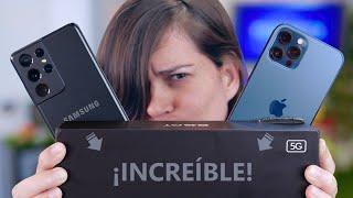 iPHONE 12, GALAXY S21 vs BESTIA SUPER BARATA!!!!!!! ¿Los mata?