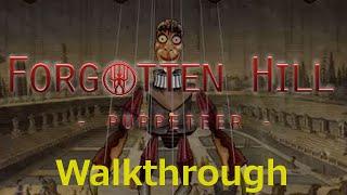Forgotten Hill: Puppeteer Walkthrough