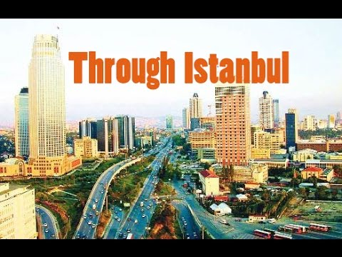 Travel Through Istanbul - The Route