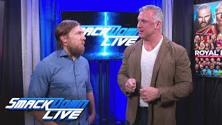 Shane McMahon again questions Daniel Bryan's leadership: SmackDown LIVE, Jan. 23, 2018