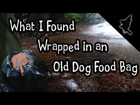 What I Found Wrapped In An Old Dogfood Bag