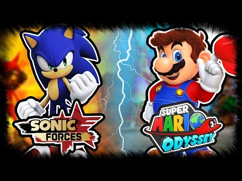 Sonic Forces VS Super Mario Odyssey - Which Game Will Be Better? |