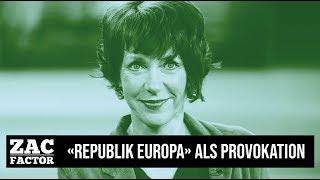 """14.07.18   ZAC FACTOR   CLAUDIO ZANETTI - NATIONALRAT  """"REPUBLIK EUROPA"""" ALS ULTIMATIVE PROVOKATION"""