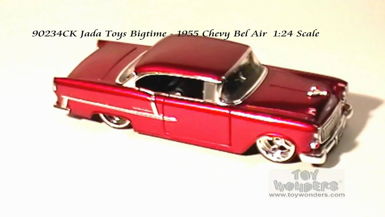 90234ck Jada Toys Bigtime 1955 Chevy Bel Air 124 Scale Diecast 1951 1953 Chevrolet Pickup Wholesalempg