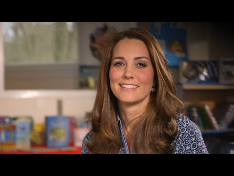 HRH The Duchess of Cambridge supports UK's first Children's Mental Health Week