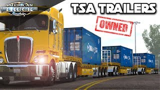 TSA TRIPLE FLATDECK TRAILERS | NEW TRAILER MODS OWNED