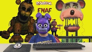 Five Nights At Freddy's Chuck E Cheese Roblox Game Play FNAF CEC - WARNING JUMP SCARE