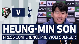 Heung-min Son on <b>Europa League</b>, his form & playing with Harry ...
