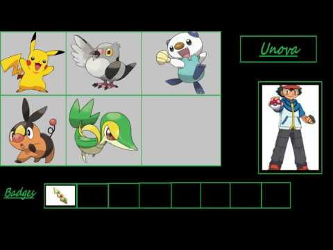 Ashs pokemon! (gen 1 - gen 6)