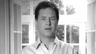 Nick Clegg Apology Commercial