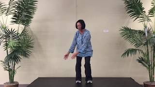 Taiji Qigong 18 Form #8- Unicorn Turns Head to Look at Moon