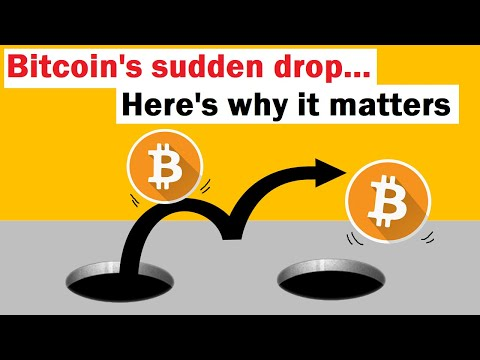 Bitcoins Sudden Drop… Here's Why it Matters