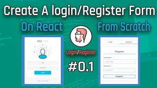 Let's Create a Modern Login Form on React #01