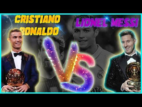 L.Messi vs C.Ronaldo -Top 10 Goals  - WILLY WILLIAM - EGO