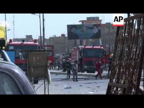 Car bomb attacks kill 12 people in Baghdad