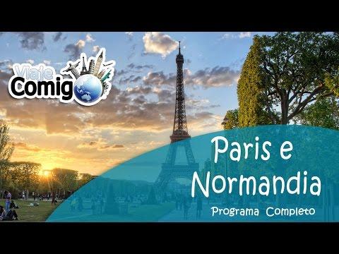 PARIS E NORMANDIA - FRANÇA   PROGRAMA VIAJE COMIGO