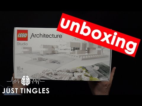 ASMR UNBOXING | Lego Architecture Studio