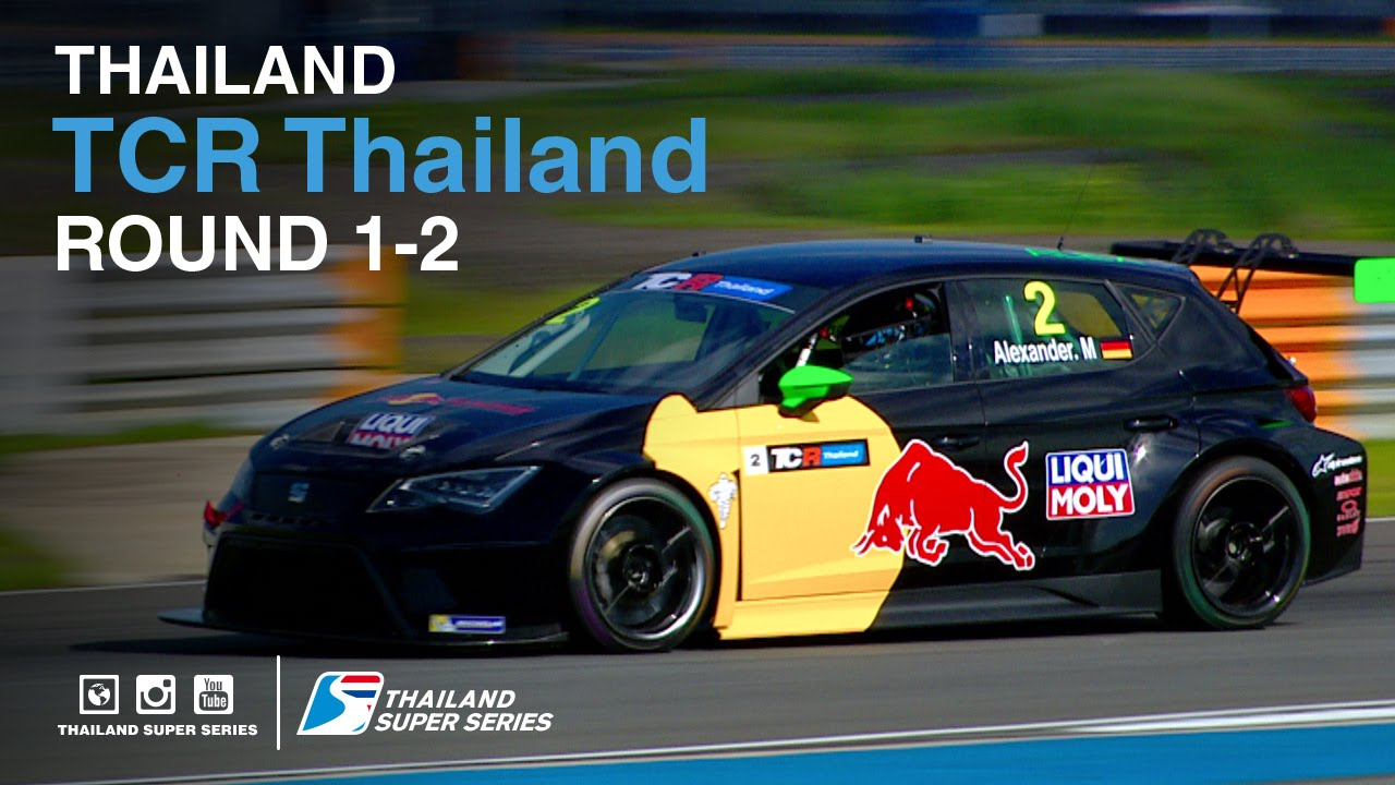 TCR Thailand : TSS 2016- Round 1-2 | (SUN-22-May) | Chang International Circuit