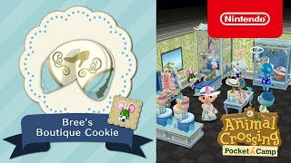 Animal Crossing: Pocket Camp - Bree's Boutique Cookie