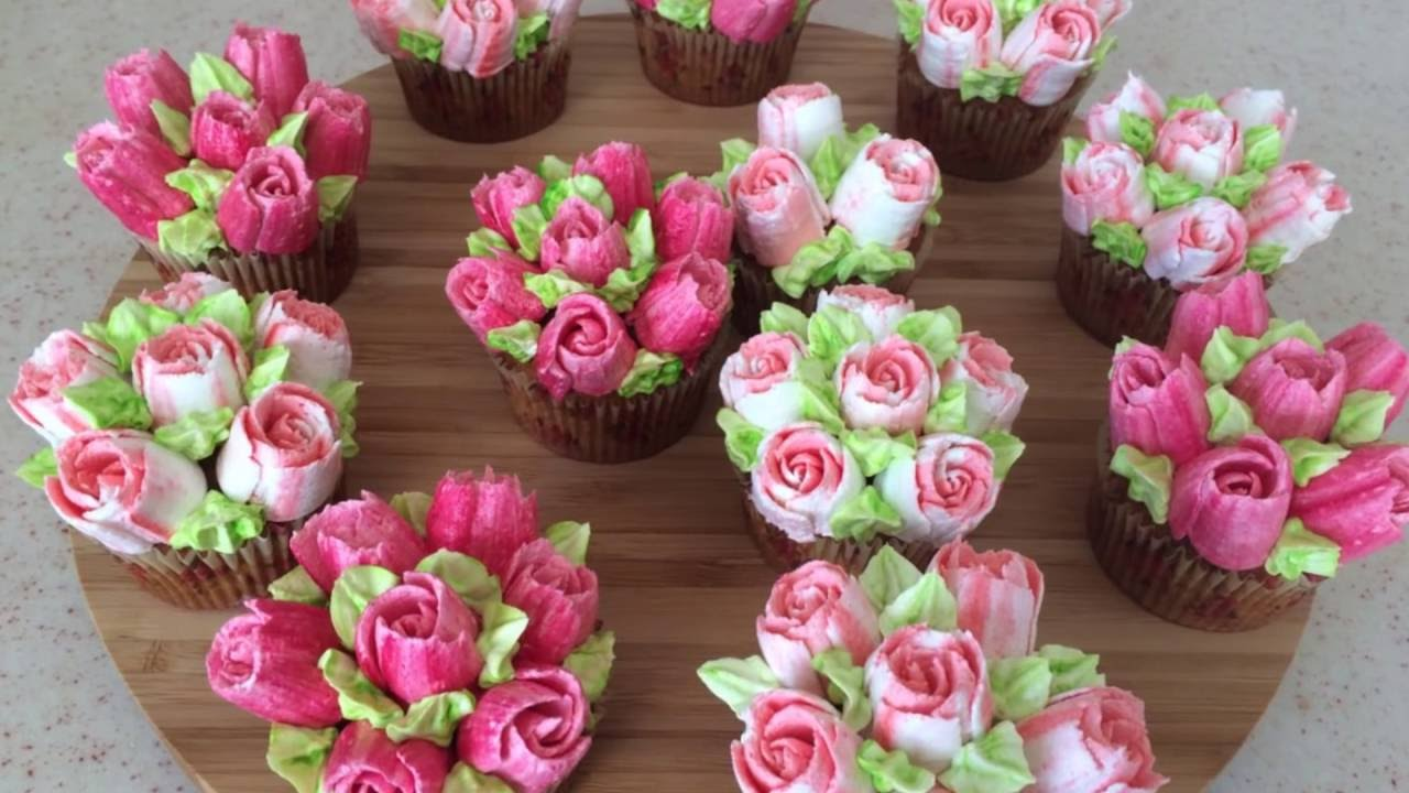 How To Use Cake Flower Nozzles Youyube