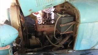 1929 Ford Model A Barn Find - Day 1