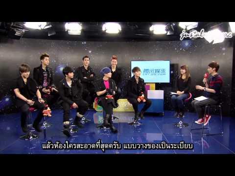 [Thaisub] 130109 SJ-M interview at QQ (Cut) ห้องใครรกที่สุด