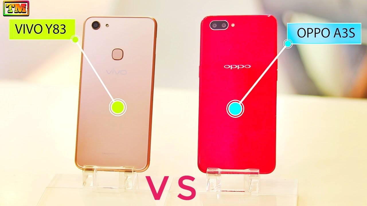 Oppo A3s Vs Vivo Y83 Speed Test Camera Comparison Youtube