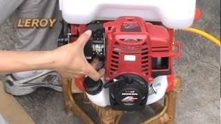 Knapsack Power Sprayer (Operation of LY-768-GX35) HONDA GX35