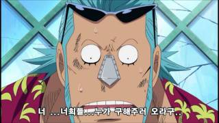 One Piece Franky the compassionate cyborg