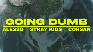Download Alesso, Stray Kids, CORSAK - Going Dumb (Dance Around The World Video)