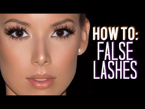 56c92ebd61f How I Customize, Trim & Apply False Lashes | LustreLux - YouTube