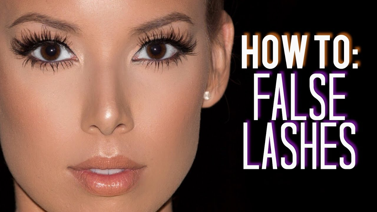 e1ea5ed413d How I Customize, Trim & Apply False Lashes | LustreLux - YouTube