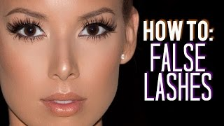 How I Customize, Trim & Apply False Lashes | LustreLux