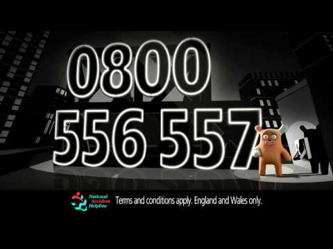 National Accident Helpline Ad