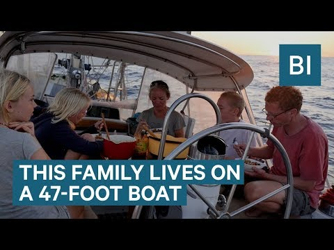 Family Has Been Sailing Around The World Non-Stop For 9 Years