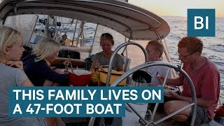 This Family Has Been Sailing Around The World Non-Stop For 9 Years