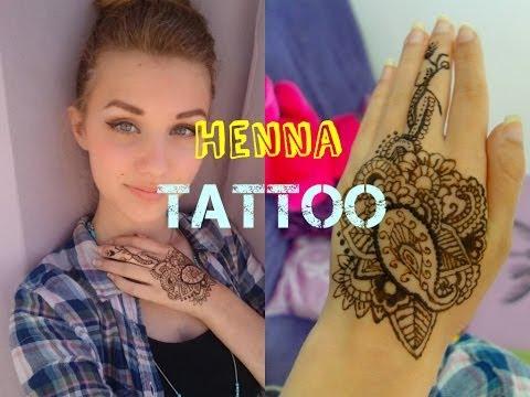 How To Make Henna Tattoo Using Blackening Shampoo Henna Tattoo Design